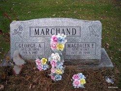 Magdalen Emma <I>Peters</I> Marchand