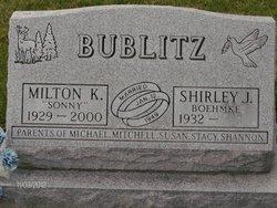 """Milton K """"Sonny"""" Bublitz"""