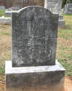 Betty Ann Stephens