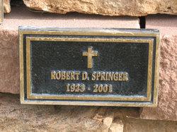 Robert D Springer
