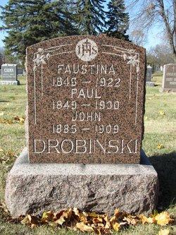 Faustina <I>Literski</I> Drobinski
