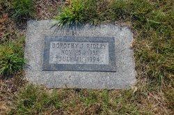 Dorothy J. <I>Collins</I> Ridley