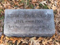 Elizabeth <I>Fentress</I> McLeod