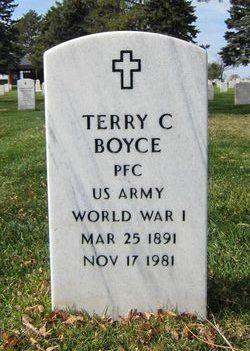 Terry C Boyce