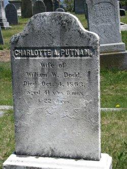 Charlotte A <I>Putnam</I> Dodd