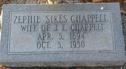 Zephie Sikes Chappell