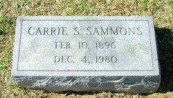 Carrie S Sammons