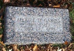 Myrtle H. Gaines