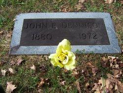 John E Dennison