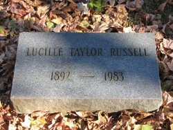 Lucille <I>Taylor</I> Russell