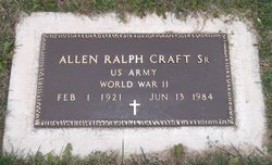 Allen Ralph Craft, Sr