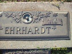 Ruth F <I>Porter</I> Ehrhardt