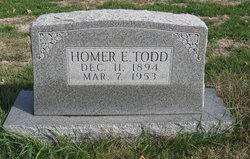 Homer Ellsworth Todd