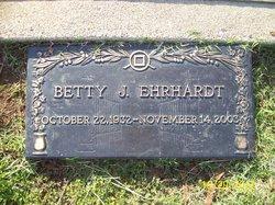 Betty J <I>Douglas</I> Ehrhardt