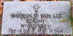 Warren D VanLue
