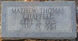 Mathew Thomas Chappell