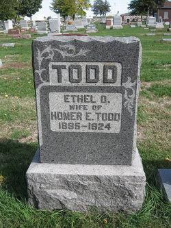 Ethel Opal <I>Hopkins</I> Todd