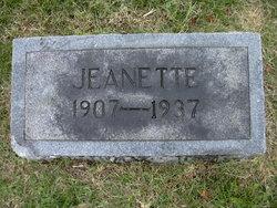 Jeanette <I>Parrott</I> Pike