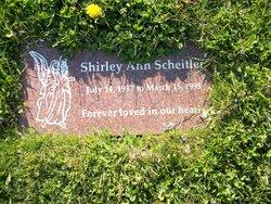 Shirley Ann <I>Brown</I> Scheitler