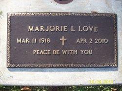 Marjorie L Love