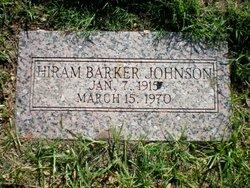 Hiram Barker Johnson
