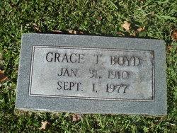 Grace <I>Taylor</I> Boyd