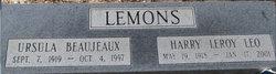 Ursula <I>Beaujeaux</I> Lemons