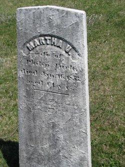 Martha U Earle