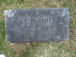 Viola V. <I>White</I> Parrott