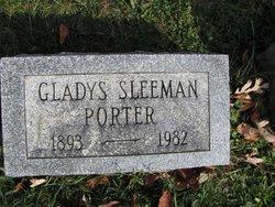 Gladys <I>Sleeman</I> Porter
