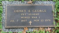 Orney E. George