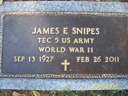 James E Snipes