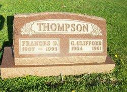 Dorothy Frances <I>Clark</I> Thompson