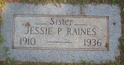 Jessie P Raines