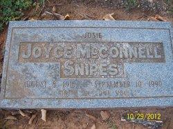 "Joyce ""Josie"" <I>McConnell</I> Snipes"