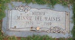 Minnie Lee <I>Morse</I> Raines