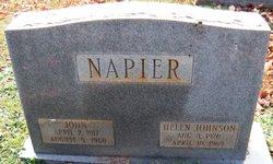 Helen <I>Johnson</I> Napier