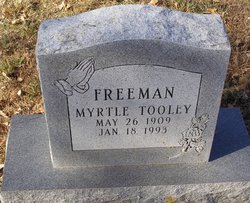 "Myrtle ""Tooley"" Freeman"