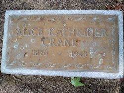 Alice <I>Kathriner</I> Crane