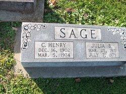 Julia B Sage