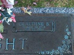 Claudine A. <I>Brewer</I> Knight