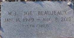 """W J """"Joe"""" Beaujeaux"""