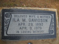 Ila Myrtis <I>Hawk</I> Davidson