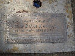 Lizzie Ruth <I>Henderson</I> Kangas