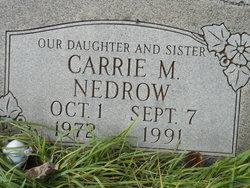 Carrie M Nedrow