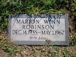Marion <I>Winn</I> Robinson