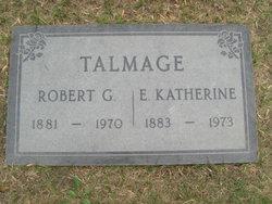 Robert G Talmage
