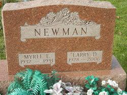 Myrle E Newman