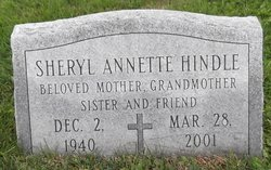 Sheryl Annette <I>Bailey</I> Hindle