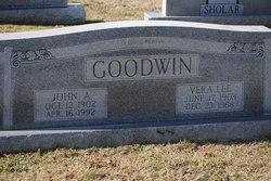Vera Lee <I>Owen</I> Goodwin
